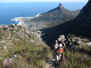 Hike Table Mountain off-the-beaten-track via Porcupine Ravine